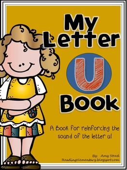 Letter U Book of Beginning Sounds-Emergent Reader w/Running Record-CCSS Aligned