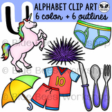 Letter U Clip Art Alphabet / Beginning Sound U