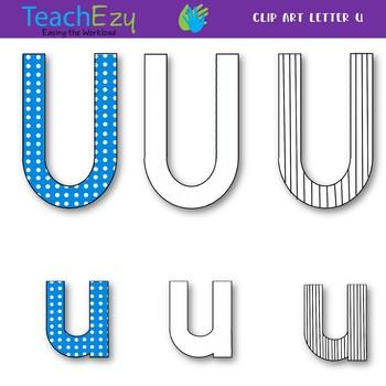 Letter U Clip Art Pack