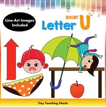 Letter U Clip Art (Short U)