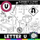 Letter U Clipart - 20 images! For commercial and personal use!