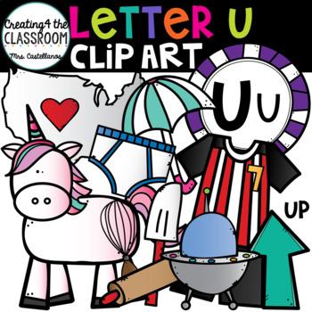 Letter U Clipart {Alphabet Clip art}