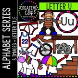 Letter U {Creative Clips Digital Clipart}