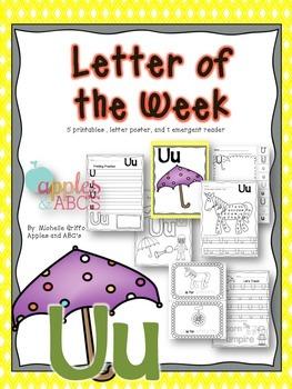 Letter U {Letter of the Week}