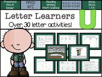 Letter Learners: Letter U