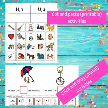 Letter of the Week Letter U Unit for Special Education