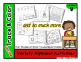 Letter U - Variety Alphabet Activities - Not Just Trace &