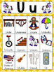 Letter U Vocabulary Cards