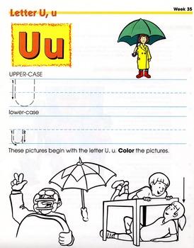 Letter U, u