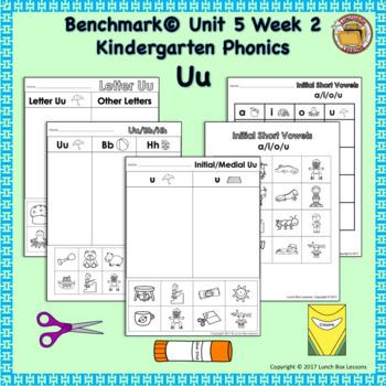Letter Uu- Benchmark© Phonics Curriculum-Kindergarten Unit 5 Week 2