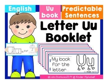 Letter Uu Booklet- Predictable Sentences