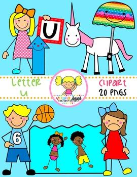 Letter Uu Clipart