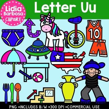 Letter Uu Digital Clipart