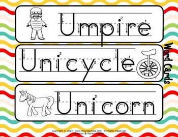 Letter Uu Language & Literacy Activity Center {COMMON CORE ALIGNED}