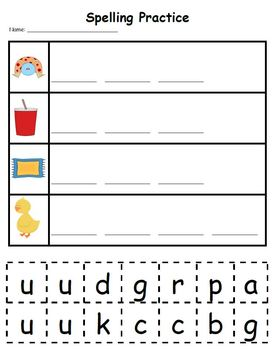 Letter Uu Phonics and Writing Pack