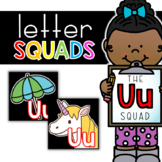 Letter Uu Squad: DAILY Letter of the Week Digital Alphabet