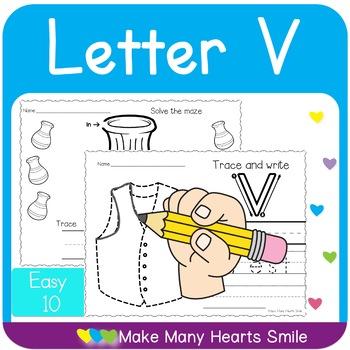 Easy 10: Letter V