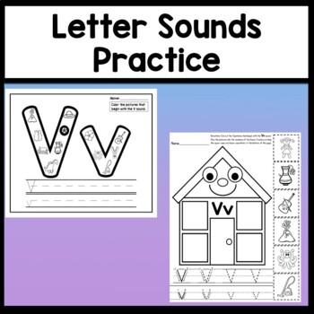 Letter V Activities {Letter V Book and 5 Letter V Worksheets!}