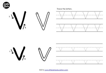 Letter V Activities and Worksheets