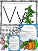 Letter V Activities for Pre-Kindergarten and Kindergarten