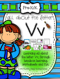 Letter V Activities for Pre-Kindergarten and Kindergarten