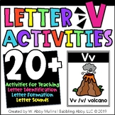 Letter V Alphabet Activities   Recognition, Formation, and Sounds