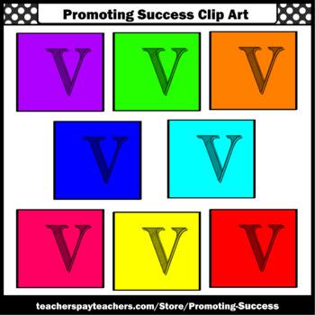 Letter V Clipart, Alphabet Clip Art, Letter Sounds SPS