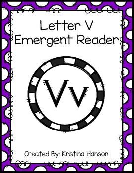Letter V Book