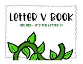 Letter V Book: Handwriting Practice