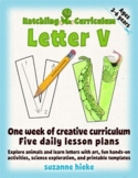Letter V Bundle: 1 Week Of Complete Curriculum Lessons