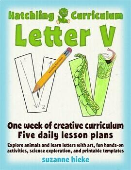 Letter V Bundle: 1 Week Of Complete Curriculum Lessons