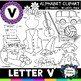 Letter V Clipart - 20 images! Personal or Commercial use