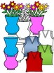 Letter V- Clipart Graphics- Commercial & Personal Use