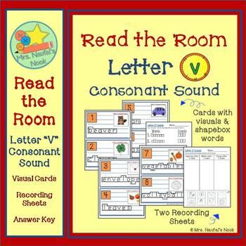Read the Room Letter V