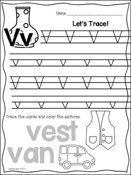 Letter V {Letter of the Week}
