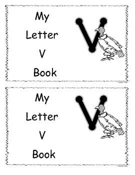 Letter V Little Read/Book