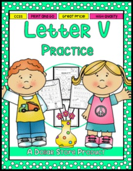 Letter V Practice Printables