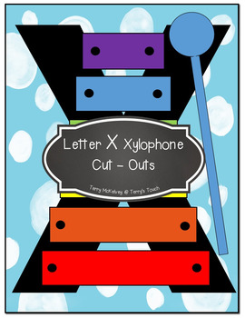 Letter V, Q, X Cut and Paste