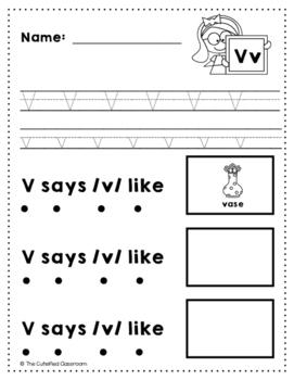 Letter V Review