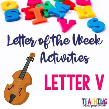 Letter Vv Activity Pack