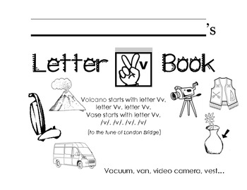 Letter Vv Activity Packet