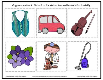 Letter Vv Letter of the Week Picture Web Activity