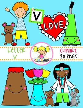 Letter Vv Clipart
