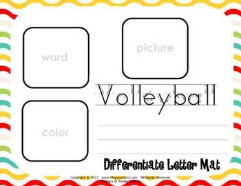 Letter Vv Language & Literacy Activity Center {COMMON CORE ALIGNED}