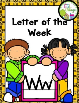 """Letter of the Week (Letter """"W"""")"""