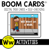Letter W Activities BOOM CARDS™