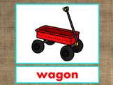 Letter W Alphabet PowerPoint Fun & Colorful Words w/Pictures (Expandable)