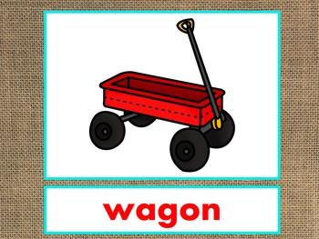 Letter W Alphabet PowerPoint Fun & Colorful Words w/Pictur