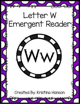 Letter W Book