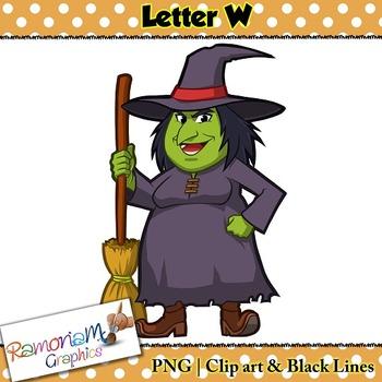 Letter W Clip art